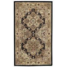 2000 black 3 ft x 4 ft area rug