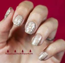 Gold Christmas Nail Designs | temasistemi.net