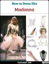 madonna costume for cosplay