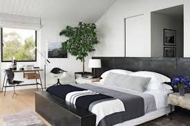 View in gallery A simple and elegant way to create a masculine bedroom that  is both trendy and relaxing