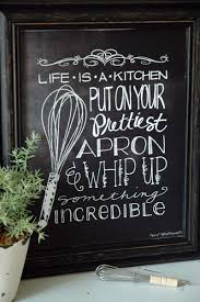 Adorable chalkboard kitchen art free download ...LOVE this! | pins ...