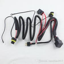 35w 55w xenon hid relay wiring harness h1 h8 h9 h11 9005 9006 9140 HID Wiring Harness Diagram at 55w Hid Wiring Harness