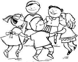 Bello Bambini Che Riordinano I Giochi Disegno Da Colorare Migliori