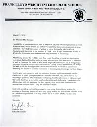 motivational speaker the whole letter of commendation
