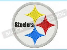 Steelers Applique Design Pittsburgh Steelers Embroidery Design