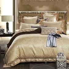 aliexpress com luxury satin silk jacquard bedding