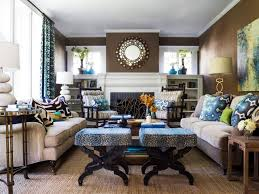 Home Design Color Theory And Living Room Design Hgtv Brown Blue