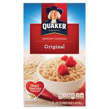 quaker oats instant oatmeal original packet 11 80 oz 12 box 0