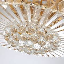 tiptonlight modern crystal chandelier ceiling fan lamp