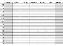 daily hourly calendar hourly scheduling calendar oyle kalakaari co