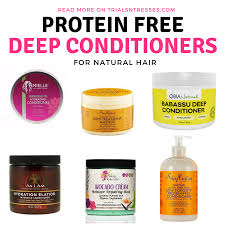 protein free deep conditioners for natural hair