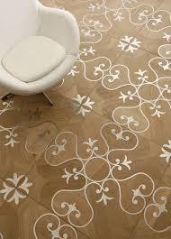 wood floor inlays. View In Gallery Steel Inlaid Oak Wood Floor Waxed Lemma Thumb Autox876 56310 Inlay Flooring: 8 Stunning Inlays