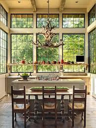 rustic kitchen decorative deer antler chandelier modern decoration element