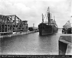 gallery years of the canal in photos newshour the canal opened on aug 15 1914 the first ship through was