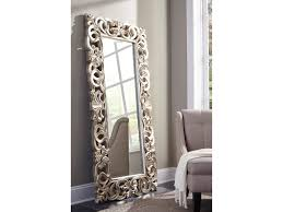 ashley signature design accent mirrors lucia antique silver finish