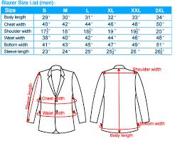 Suit Jacket Size Chart Mens Sport Jacket Size Chart Bedowntowndaytona Com