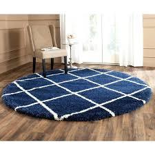 navy blue round rug navy ivory blue ivory 7 ft x 7 ft round area navy blue round rug