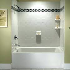 bathtub wall kit excellent bathtub surrounds at useful reviews of shower stalls tubs and tub wall