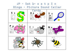 Jolly phonics set 2 use the action buttons to navigate. Jolly Phonics Bingo Set 1 To 7 Teaching Resources