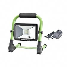10 Watt Rechargeable Led Work Light Powersmith 10 Watt 900 Lm Rechargeable Foldable Green