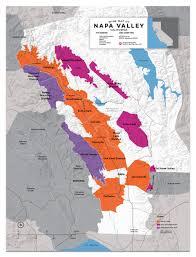 napa valley wine map  wine folly