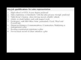 sales representative job description medical sales representative jobs