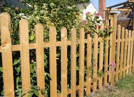 concave curved top palisade fence panels