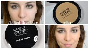 powder foundation review make up for ever pro finish foundation bailey b foundation ings