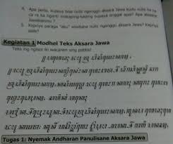 Kunci jawaban tantri basa kelas 3 hal. Jawaban Bahasa Jawa Kelas 7 Hal 108 Brainly Co Id