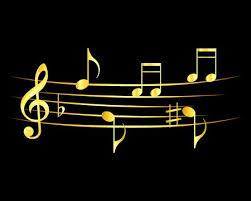 black background design music. Simple Black 72361992  Abstract Music Notes Design Music Gold On A Black  Background Vector Illustration And Black Background Design K