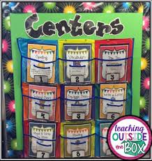 Reading Center Rotation Chart Literacy Centers Made Easy Teach Outside The Box