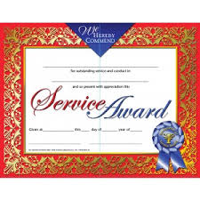 customer service award template recognition of service award certificate 30 pack downloadable