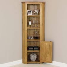 tall corner cabinet london solid oak display shelf unit desk trophy case black iron woodworking plans