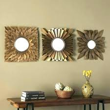 mirror set for wall small decorative wall mirror set wall mirrors decorative wall mirrors