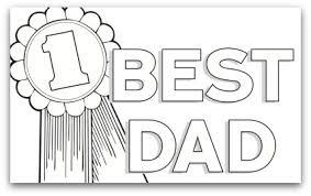 Disegno Miglior Padre Del Mondo Da Colorare Gratis Per Bambini