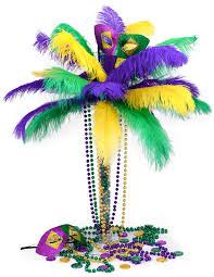 party ideas by mardi gras diy mardi gras feather tree centerpiece