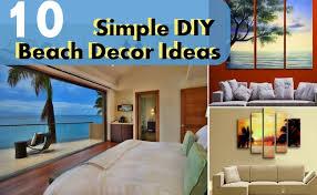 beach decor diy. 10 simple diy beach decor ideas diy n