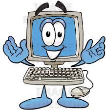 Computer Clip Art Cartoon Computer Clipart Clip Art Bay