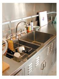 stainless steel sinks counters cabinets hoodore