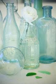 Ocean Colors Bedroom Coastal Vintage Bottles For Beachy Nautical Decor Glasses