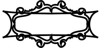 rectangle black frame. 600x294 Black Rectangle Frame Clip Art