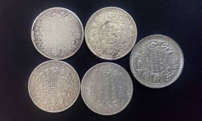 Rare Indian Coins From 18th 19th 20th Century
