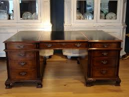 sold 20c gany partners desk to zoom