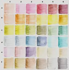 Tim Holtz Distress Marker Color Charts Dry And Wet Life
