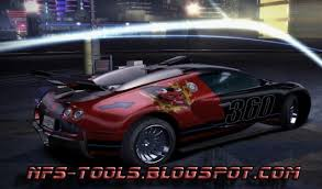 Bugatti Veyron Need For Speed Carbon Skin Mods