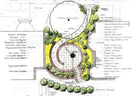 Small Picture roundabout landscape plan drawings