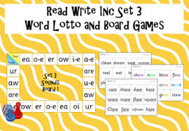 Learning to read starts here. Read Write Inc Set 3 Word Lotto And Board Game By Funky Phonics