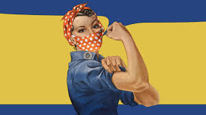 Rosie the Riveter's bandana gets a redesign for the COVID-19 era