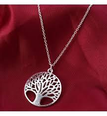 Náhrdelník Strom života Stříbrný