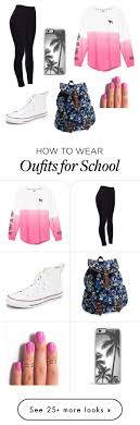 best ideas about high school outfits polyvore popular looks high school 4 by ashleymmck on polyvore featuring victoria s secret